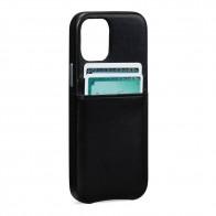 Sena Snap On Wallet iPhone 12 Mini Zwart - 1