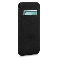 Sena UltraSlim Wallet Sleeve iPhone 13 Pro Max Hoesje Zwart 01
