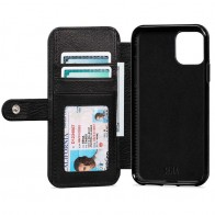 Sena Wallet Book Classic iPhone 11 Zwart - 1