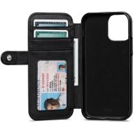 Sena Wallet Book Classic Case iPhone 13 / 13 Pro Zwart 01