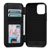 Sena WalletBook iPhone 12 Mini Zwart - 1