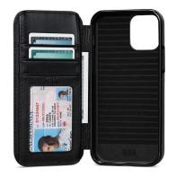Sena WalletBook iPhone 13 Pro Max Hoesje Zwart 01