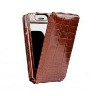 Sena Magnetflipper iPhone 5 Croco Tan - 1