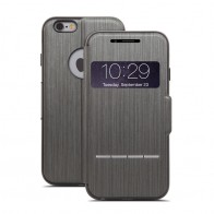 Moshi SenseCover iPhone 6 Steel Black - 1