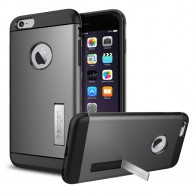 Spigen Slim Armor Case iPhone 6 Plus Gunmetal - 1
