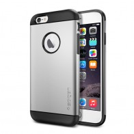 Spigen Slim Armor Case iPhone 6 Satin Silver - 1