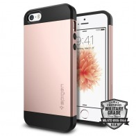Spigen Slim Armor Case iPhone SE / 5S / 5 Rose Gold - 4