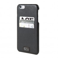 HEX Icon Wallet Case iPhone 6 Black Pebbled - 1