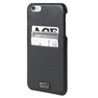 HEX Solo Wallet Case iPhone 6 Plus Black Pebbled - 1