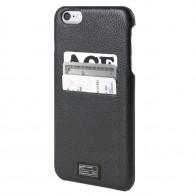 HEX Solo Wallet Case iPhone 6 Plus Black Pebbled - 1