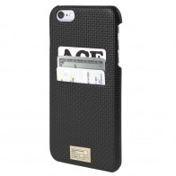 HEX Solo Wallet Case iPhone 6 Plus Black Woven - 1