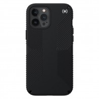 Speck Presidio Grip Case iPhone 12 Pro Max Zwart - 1
