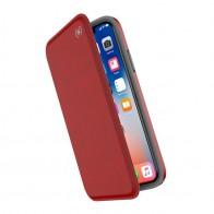 Speck Presidio Folio iPhone X/XS Hoesje Rood - 1