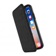 Speck Presidio Folio iPhone X/XS Hoesje Zwart - 1