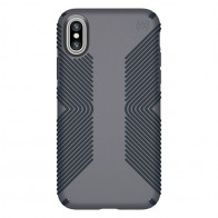 Speck Presidio Grip Case iPhone X/XS Grijs - 1