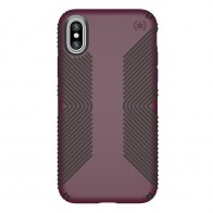 Speck Presidio Grip Case iPhone X/XS Paars - 1