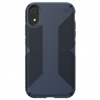 Speck Presidio Grip Case iPhone XR Blauw 01
