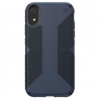 Speck Presidio Grip Case iPhone XR Blauw 01