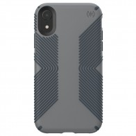 Speck Presidio Grip Case iPhone XR Grijs 01