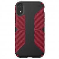 Speck Presidio Grip Case iPhone XR Rood Zwart 01