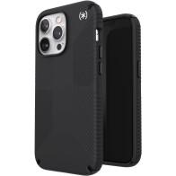 Speck Presidio2 Grip MagSafe iPhone 13 Pro Max Zwart 01
