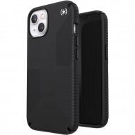 Speck Presidio2 Grip MagSafe iPhone 13 Hoesje Zwart 01