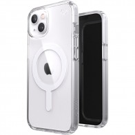 Speck Presidio Perfect Clear MagSafe iPhone 13 Hoesje Transparant 01
