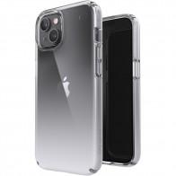 Speck Presidio Perfect Clear Ombre iPhone 13 Hoesje Grijs/Transparant 01
