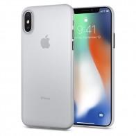 Spigen AirSkin iPhone X/Xs Hoesje Transparant - 1