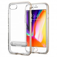 Spigen Crystal Hybrid Case iPhone 8/7 Goud - 1