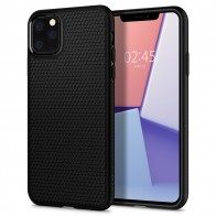 Spigen Liquid Air iPhone 11 Pro Max Zwart - 1