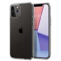 Spigen - Liquid Crystal iPhone 12 / iPhone 12 Pro 6.1 inch transparant 01