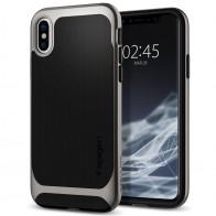 Spigen - Neo Hybrid iPhone 8 Hoesje gunmetal 01