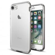 Spigen Neo Hybrid Crystal iPhone 7 Gunmetal/Clear - 1