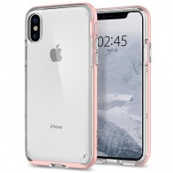 Spigen - Neo Hybrid Crystal iPhone 8 Hoesje rose gold 01