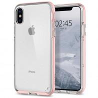 Spigen - Neo Hybrid Crystal iPhone 8 Hoesje rose gold 01