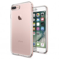 Spigen Neo Hybrid Crystal iPhone 7 Plus Rose Gold/Clear - 1