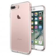 Spigen Neo Hybrid Crystal iPhone 7 Plus Rose Gold/Clear - 1