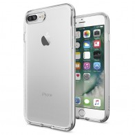 Spigen Neo Hybrid Crystal iPhone 7 Plus Satin Silver/Clear - 1