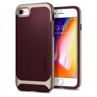 Spigen Neo Hybrid Herringbone Phone 8/7 Burgundy - 1
