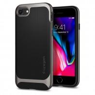 Spigen Neo Hybrid Herringbone Phone 8/7 Gunmetal - 1