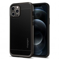 Spigen - Neo Hybrid iPhone 12 / iPhone 12 Pro 6.1 inch gunmetal 01