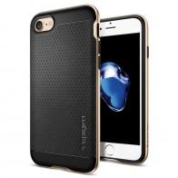 Spigen Neo Hybrid iPhone 7 Champagne Gold/Black - 1