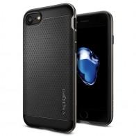 Spigen Neo Hybrid iPhone 7 Gunmetal/Black - 1