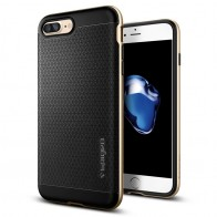Spigen Neo Hybrid Case iPhone 7 Plus Champagne Gold/Black - 1