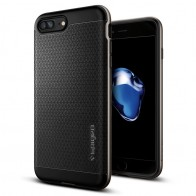 Spigen Neo Hybrid Case iPhone 7 Plus Gunmetal/Black - 1