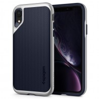 Spigen Neo Hybrid Case iPhone XR Silver Blue 01