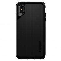 Spigen Neo Hybrid iPhone XS Max Hoesje Jet Black 01