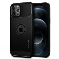 Spigen - Rugged Armor iPhone 12 Pro Max 6.7 inch zwart 01