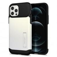 Spigen Slim Armor iPhone 12 / iPhone 12 Pro 6.1 inch Wit 01